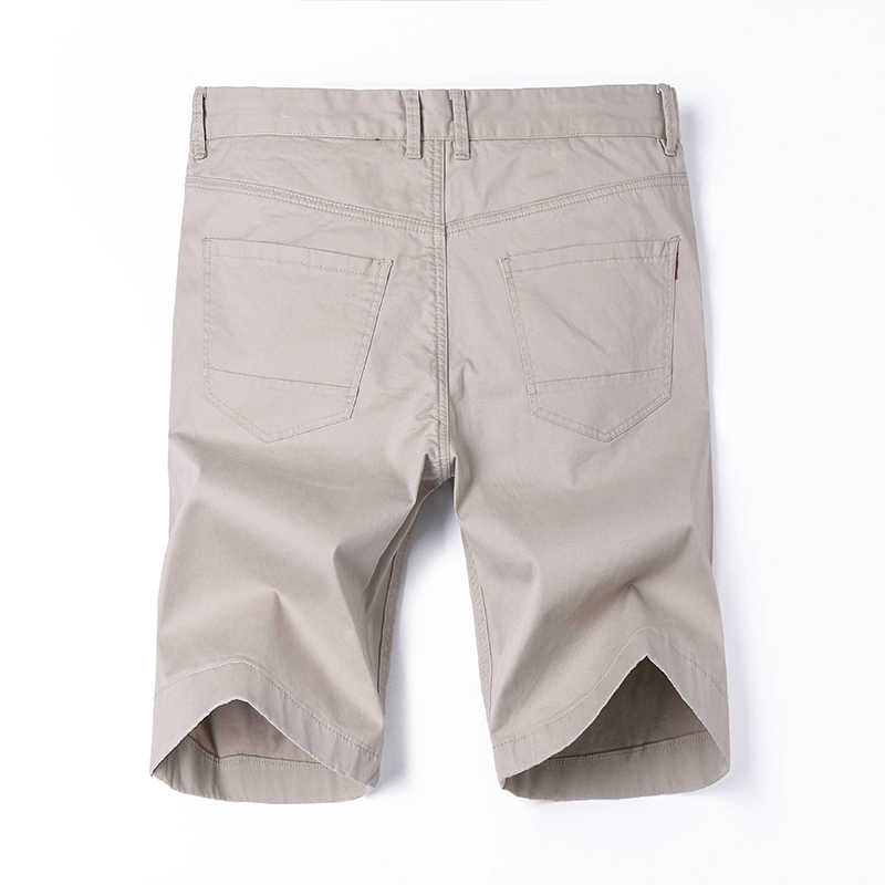 7 colores más tamaño 28-38 pantalones cortos de mezclilla para hombre Pantalones cortos elásticos sólidos pantalones cortos regulares para hombre Bermuda 2019 nuevo verano YJ05