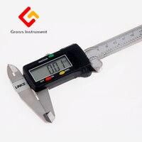 Высокое качество точность цифровой суппорт 0 200 мм штангенциркуль измерительные инструменты Нержавеющаясталь инструменты измерения