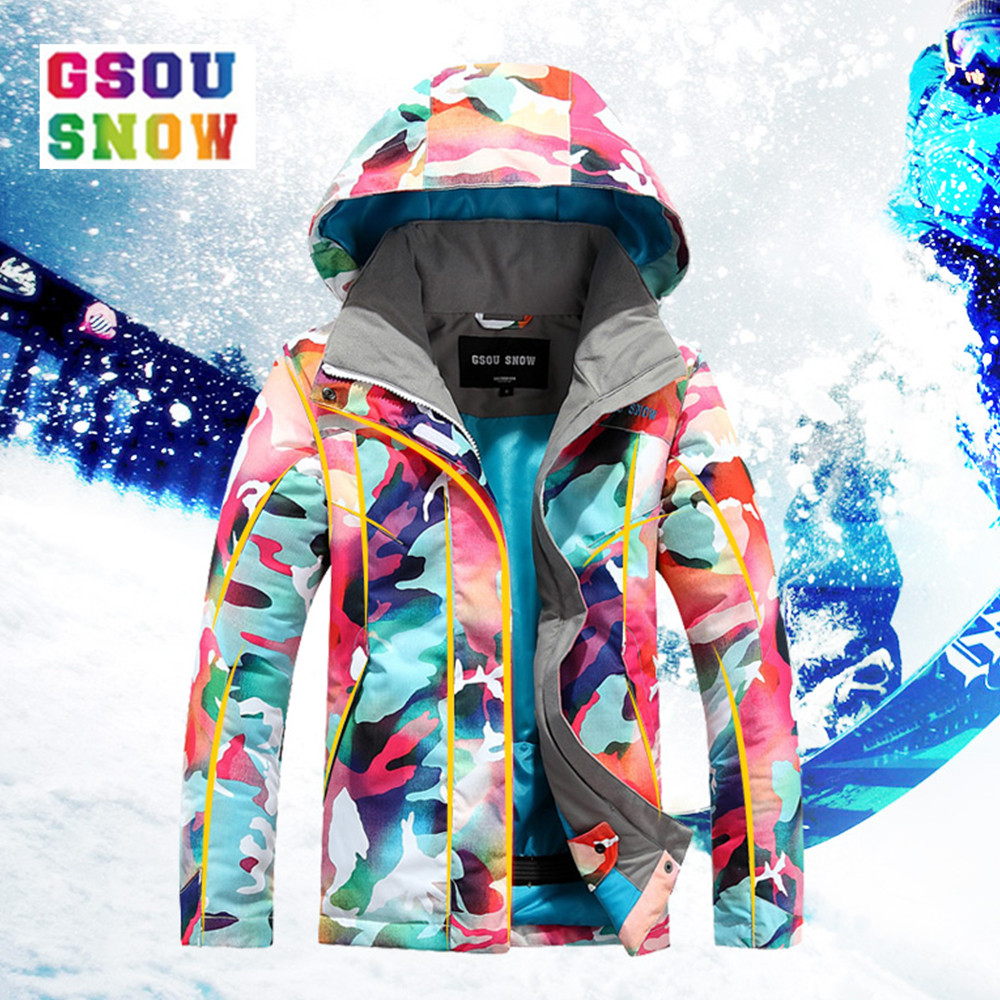 Gsou Snow Winter Ski For Girls Kids Waterproof Warm Snowboarding  Ski Jacket Snowboard Outdoor Skiing Snow Wear WindproofGsou Snow Winter Ski For Girls Kids Waterproof Warm Snowboarding  Ski Jacket Snowboard Outdoor Skiing Snow Wear Windproof