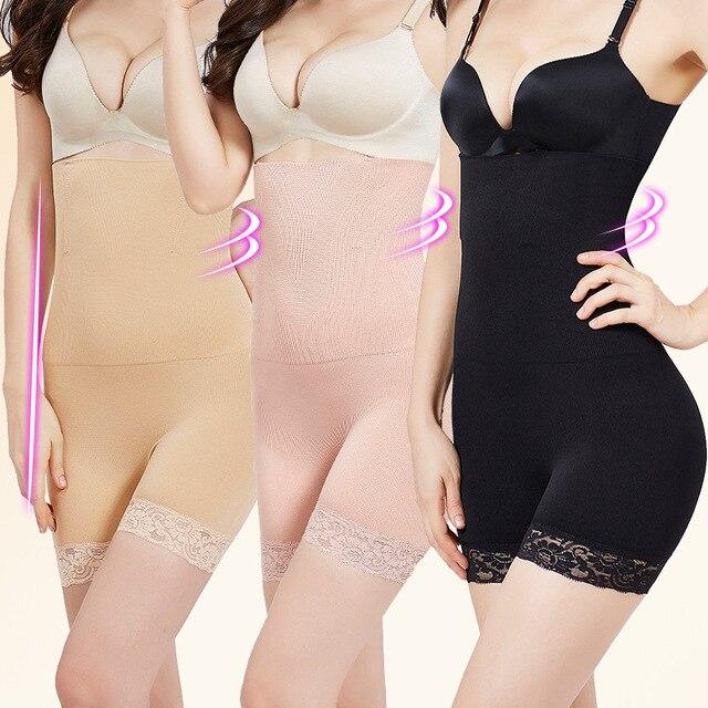 ZYSK Tummy Control Slimming Pants Women High Waist Trainer Body Shaper Slimming Belt Shapewear Women Seamless Control Panties 3