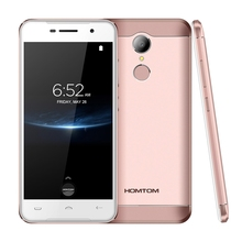 HOMTOM HT37 PRO 4G Mobile Phone Android 7.0 Smartphone 3GB 32GB 5.0 Inch MTK6737 1.3GHz Quad Core 13.0MP HD Screen Cell Phone