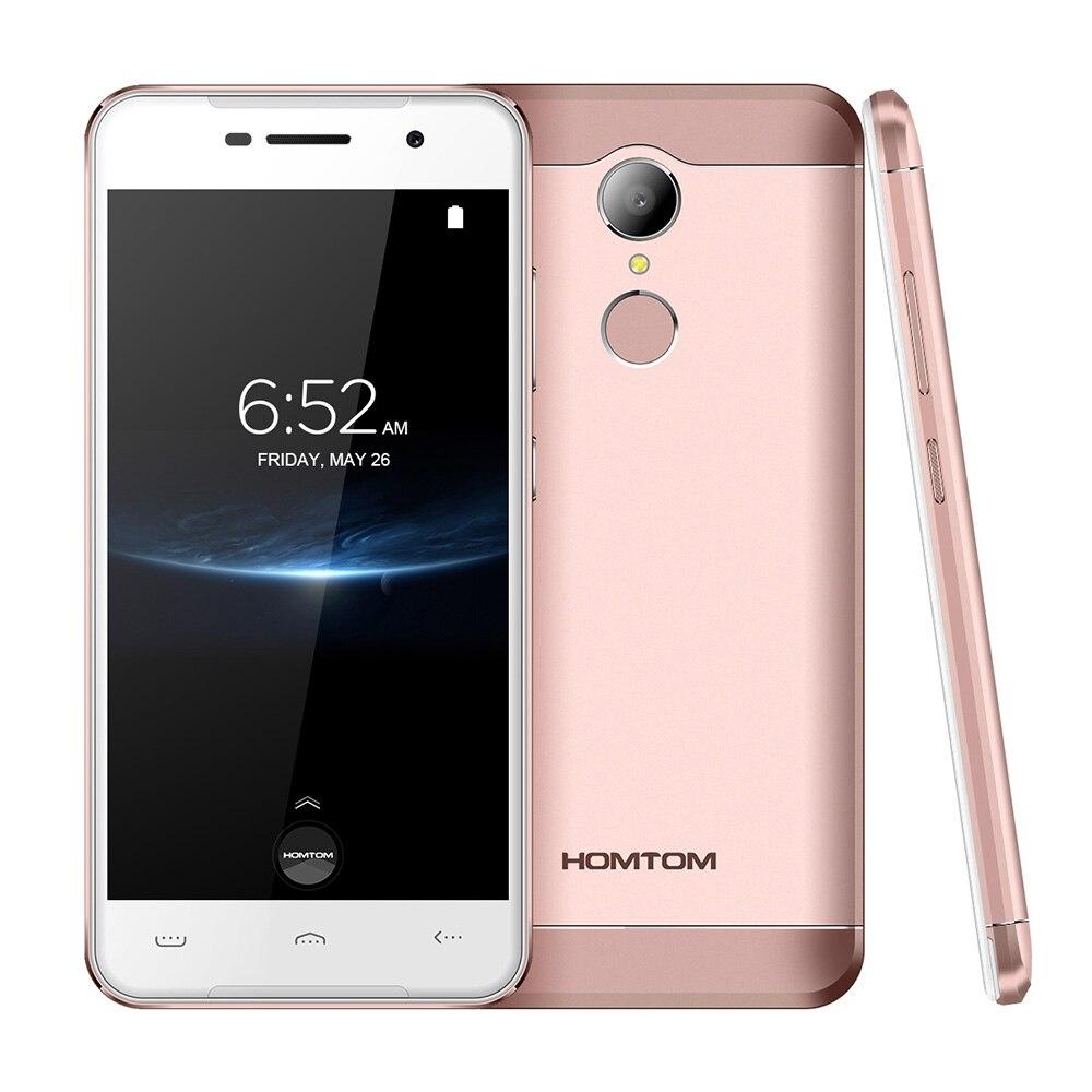 HOMTOM HT37 PRO 4G teléfono móvil Android 7,0 Smartphone 3 GB 32 GB 5,0 pulgadas MTK6737 1,3 GHz Quad Core 13.0MP HD pantalla del teléfono celular