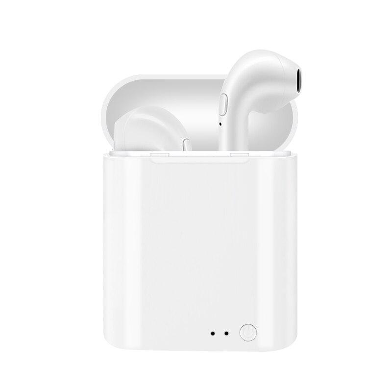 I7 TWS Mini Doppio Orecchio Senza Fili di Bluetooth del Trasduttore Auricolare Non È Aria Baccelli Auricolari Cuffie Auricolari Per Iphone Android di Apple