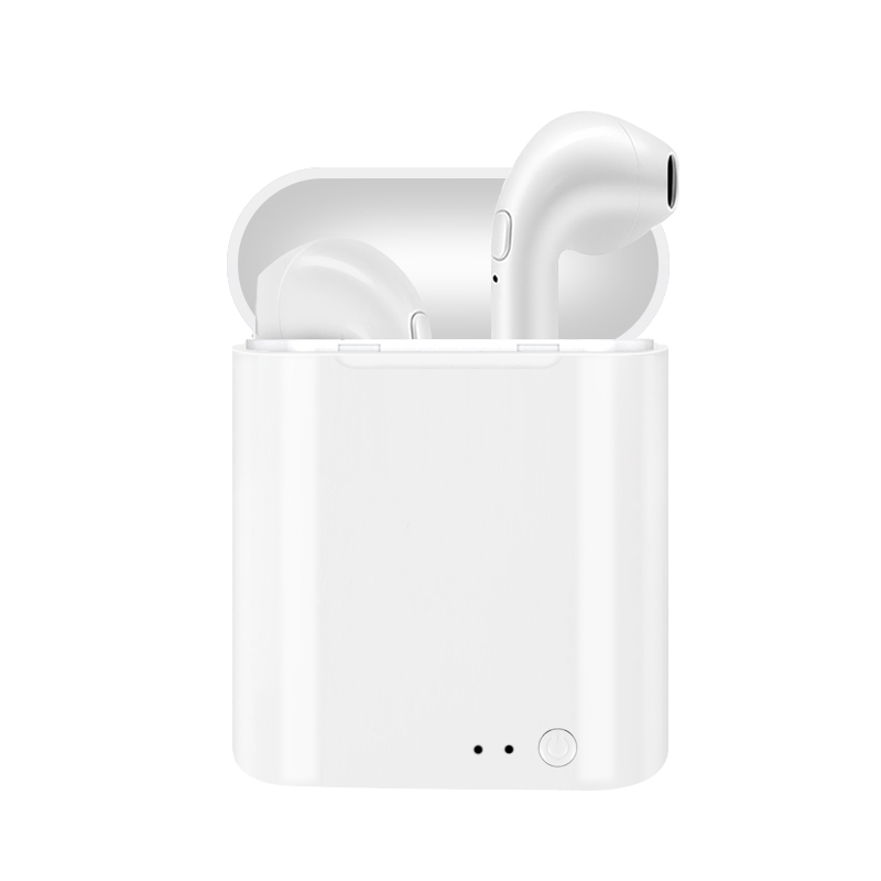 I7 TWS Mini Double Ear Wireless Bluetooth Earphone Not Air Pods Earphones Headsets Earbuds For Apple Iphone Android
