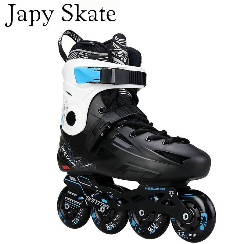 Prix pour Jus japy Skate Flying Eagle F1 Patins À Roues Alignées Falcon Professionnel Adulte Chaussures Roller Slalom de Freinage Livraison De Patinage Bon Que SEBA