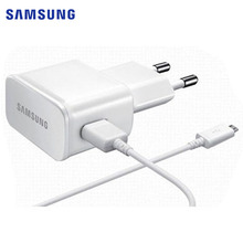 Original Samsung 2A Wall Travel Charger + 1M USB Data Cable for Samsung Galaxy S3 S4 Alpha Note 2 S4 mini; EU US UK Plug