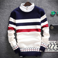 2015 Fashion Autumn Mens Sweaters Male O Neck Winter Cardigan Men Knitwear Sweater Slim Casual Sweater