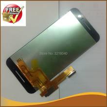 1 pçs têm verificação móvel preto whtie cor display lcd para htc um s9 tela de toque digitador assembléia navio livre