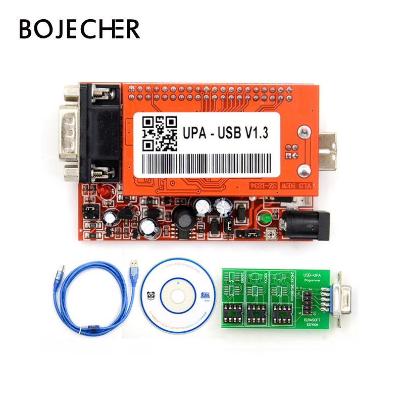 UPA USB Programmer Main Unit V1.3 UPA-USB Upa Usb 1.3 Version Main Unit High Quality new upa usb 2014 v1 3 0 14 with full adapters upa usb device programmer v1 3 auto ecu tool in stock
