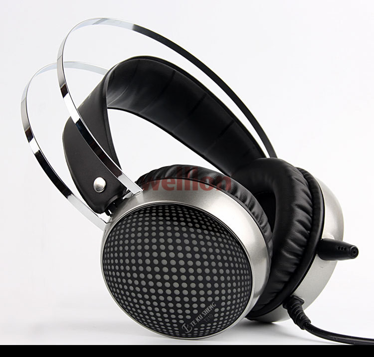 New Hifi Gaming Headset Gamer 3.5mm Game Headphone Headset Earphone With Mic LED Light For Laptop Tablet / PS4 / Mobile Phones