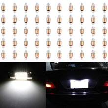 31mm 4014 12SMD C5W LED Canbus Festoon Dome Lamp Car License Plate Light