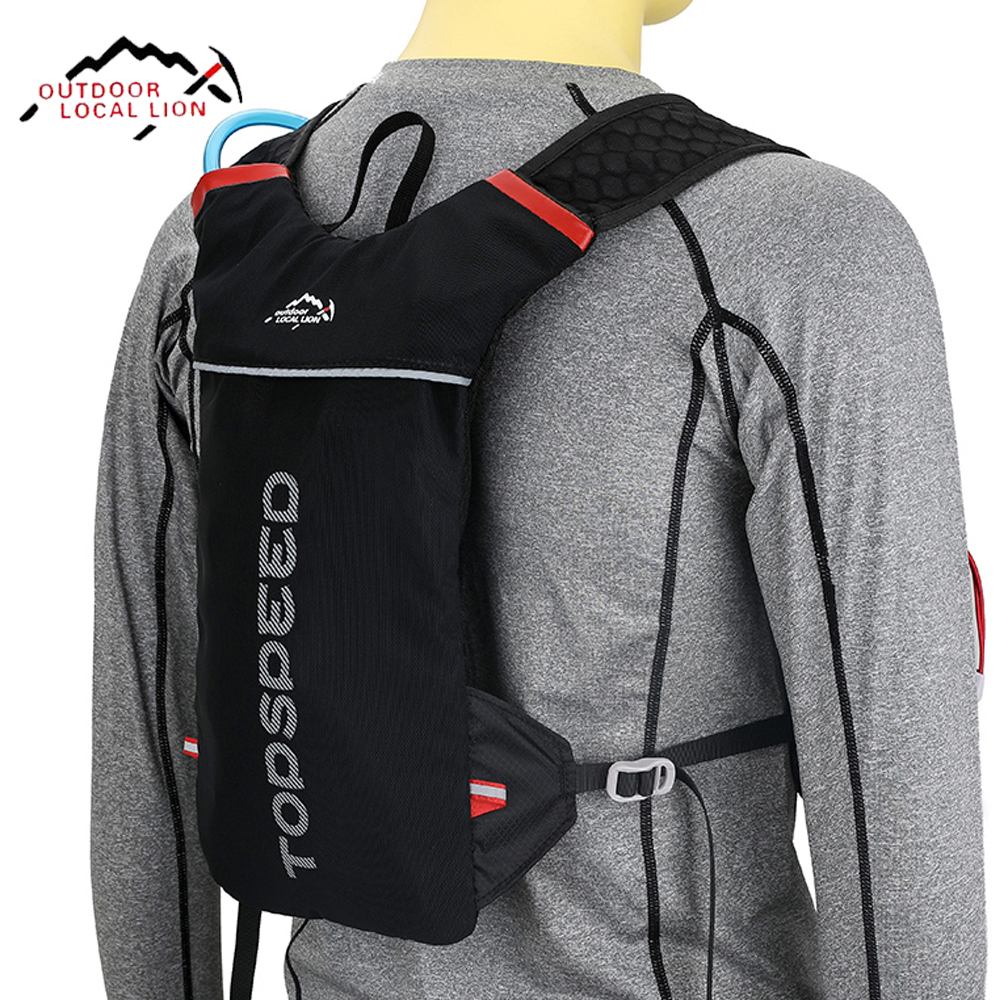 LOCAL LION Bicycle Backpack Hydration Running <font><b>Cycling</b></font> Backpack Bicycle <font><b>Cycling</b></font> Sport Bags Light Waterproof Riding Backpacks 5L