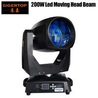 TIPTOP свет этапа 200 Вт светодио дный Moving Head луч света DMX 14 Каналы гобо/цвет колеса 8 грань Prism/фокусная линза/Мороз объектив TP L200B