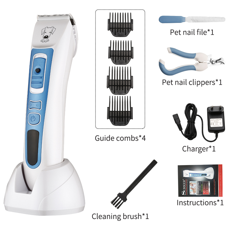Professional pet dog hair trimmer animal beauty clipper cat scissors shavers electric Trimmer and