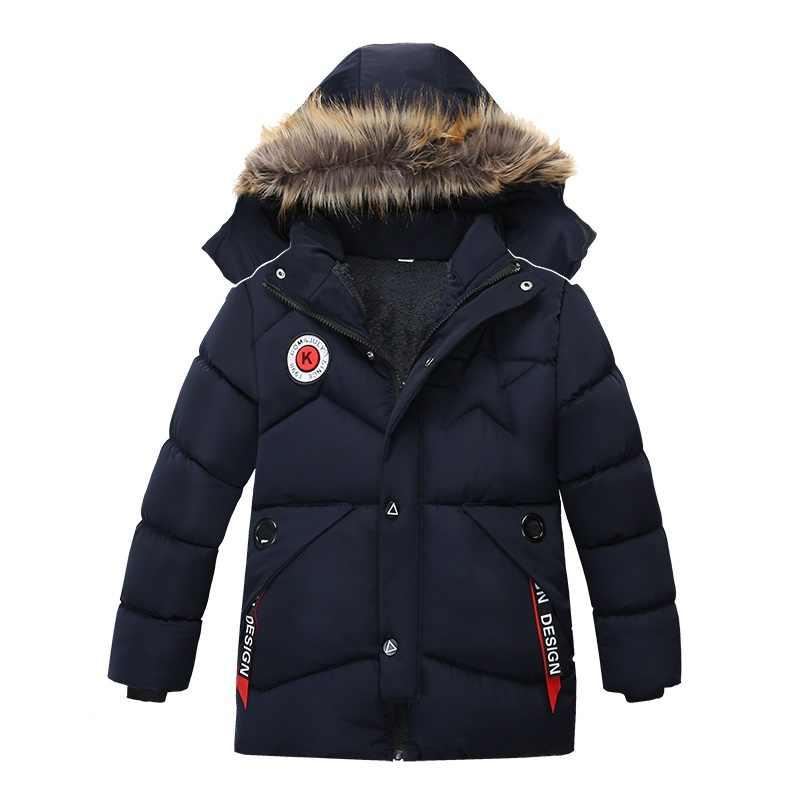 ילדים מעילי 2018NEW תינוק הלבשה עליונה Childen חורף מעילי תינוק ילד בגדים למטה מעיל לילדים ילד של חם מעיל 3 -6 שנים