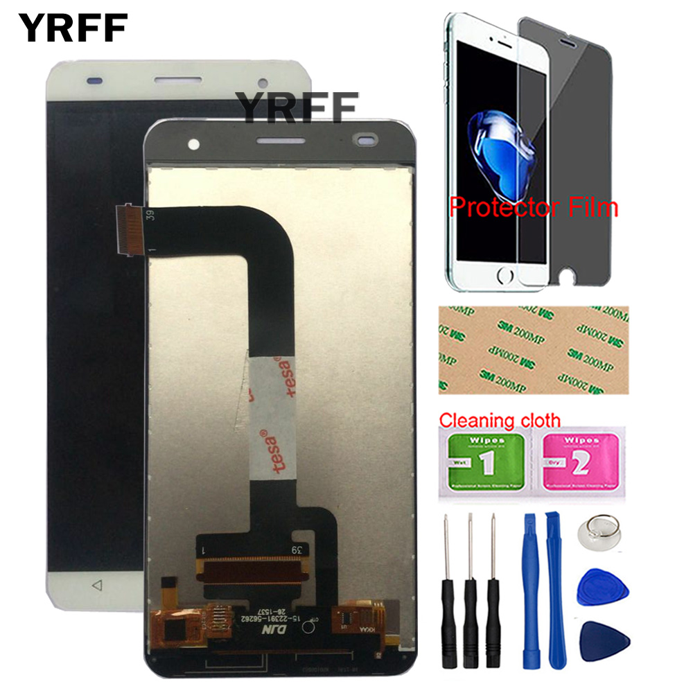 Mobile LCD Display For Fly FS504 Cirrus 2 LCD Display Touch Screen Digitizer Glass Repair FS504 Phone Sensor Tool Protector Film