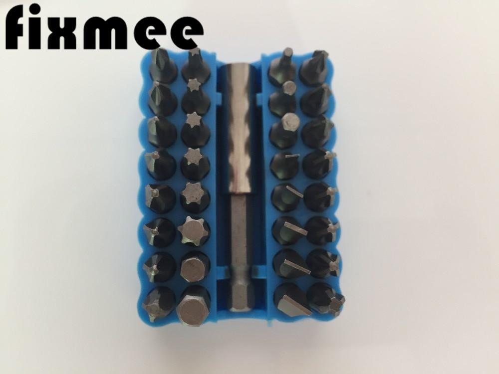 33pc Set di punte di sicurezza Set di punte per cacciavite a prova di - Utensili manuali - Fotografia 2