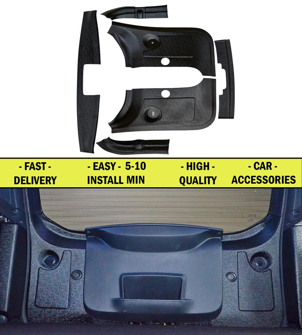 Covers for rear tailgate for Renault Duster 2010- FL 2015- ABS plastic Protection pad scratches inside of car trim styling renault duster в нижнем новгороде где купить