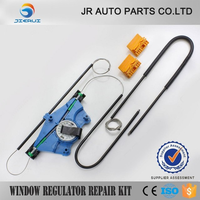 JIERUI For Volkswagen VW Touareg Front Left 4/5 - Doors 2003-2010 Electrical Window Regulator Repair Kit 7L0837461 / 7L0837461D