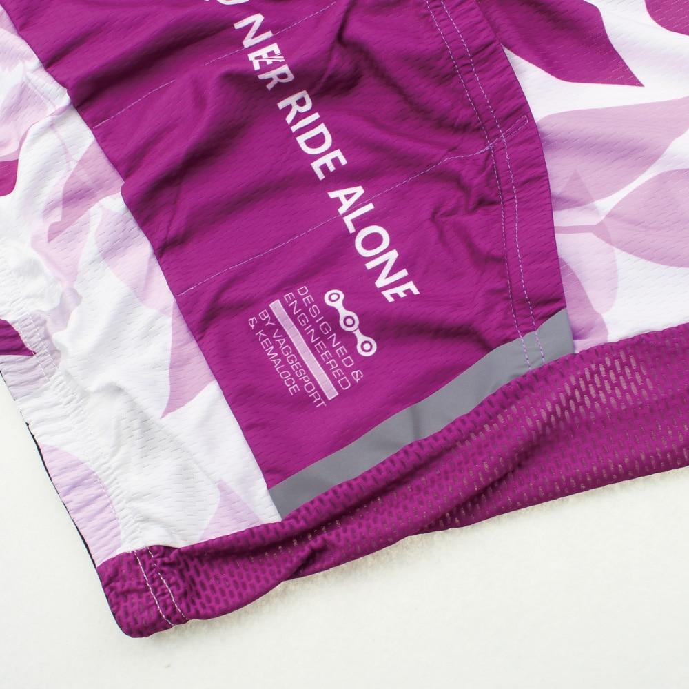Kemaloce Pro Team Kadınlar Nefes Bisiklet Giyim 100% Polyester 2019 - Bisiklet Sürmek - Fotoğraf 5