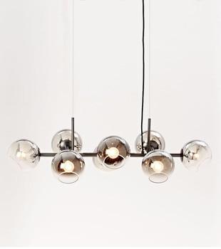 Moderne Glazen Globe Bonen Hanglampen Drope Light Hanglamp Voor Eetkamer Glans E27 Lamparas Hanger Verlichting No137