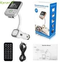 High Quality LCD Car Bluetooth MP3 Player SD USB Remote FM Transmitter Modulator For Phone