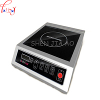 Commercial Induction Cooker 3500W Flat High Power Induction Cooker Industrial Induction Cooker Hotel Stove Furnace Drum Sink 1pc