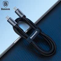 Baseus USB C Tipo di Cavo C a Tipo C PD 3.1 Cavo del Caricatore per Samsung galaxy S9 S8 XIAO mi xiao mi mi 3A/5A veloce FILO Del Caricatore Usb C