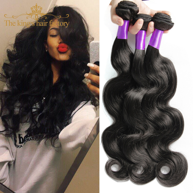 8A Brazilian Virgin Hair 3 Bundles Brazilian Body Wave Body Wave King Brazilian Body Wave Unprocessed Human Hair Extensions Body