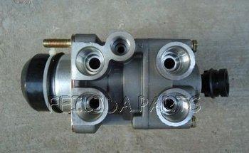 Zawór hamulca do ciężarówki MAN M2000 F2000 E2000 tanie i dobre opinie 320060102 Ręcznie hamulca postojowego zhuliangqiang