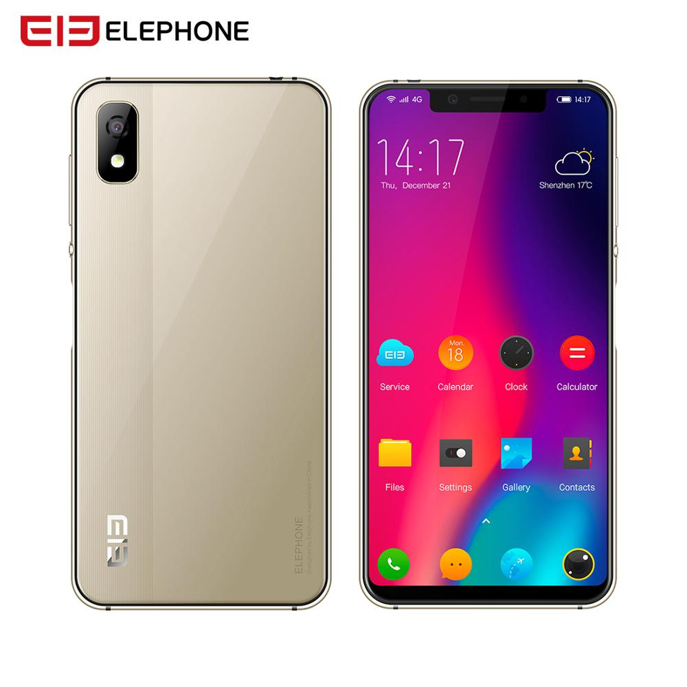 ELEPHONE A4 3GB 16GB Mobile Phone Android 8.1 Face ID 5.85 1440*720P HD+ 18:9 Display,Full Screen 13MP+5MP MTK6739 Quad-core image