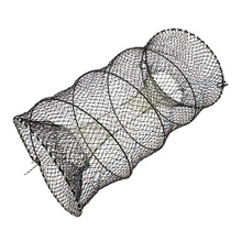 High Quality 30cmX60cm Spring Cage and Steel Wire Mesh Cloth Production Crabs Steamed Steamed Fish Shrimp Net