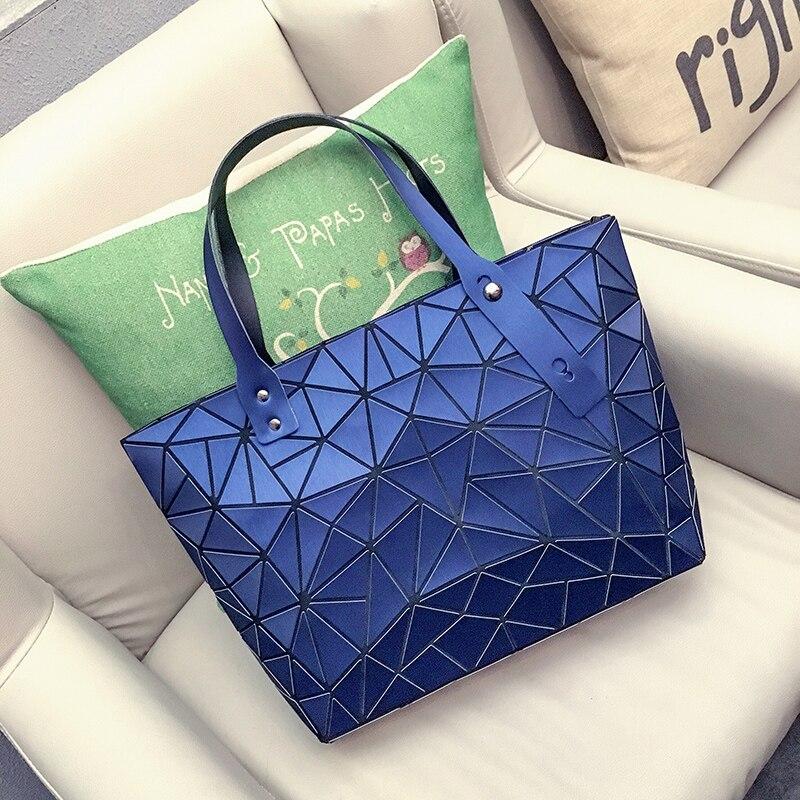 2017 Mode Bao Bao Sac Femmes Fourre-Tout Fold Summer Diamant Sac À Main Baobao Sac À Main Mat Géométrique Designer Sacs À Main de Haute Qualité