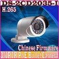 Chinese Firmware Full HD 1080P IP POE Camera DS-2CD2035-I H.265 Infraed CCTV Camera Mini Bullet Outdoor Camera