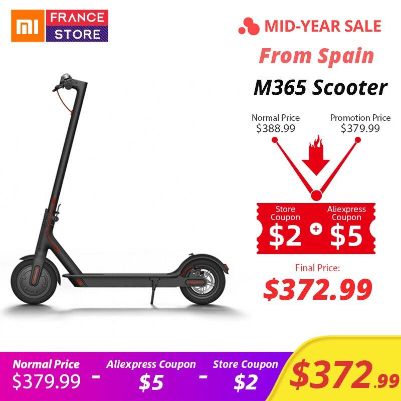 Xiaomi originais Scooter M365 Mijia 2 Rodas Inteligente Scooter Elétrico Skate Bordo Adulto Mini Bicicleta Dobrável Hoverboard 30 km com APP