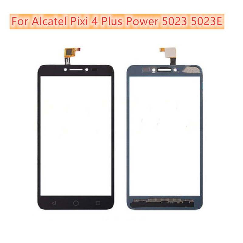Touch Sensor Screen Digitizer Front Glass Panel For Alcatel Pixi 4 Plus Power 5023 5023E 5023F OT5023 Touch Screen Panel
