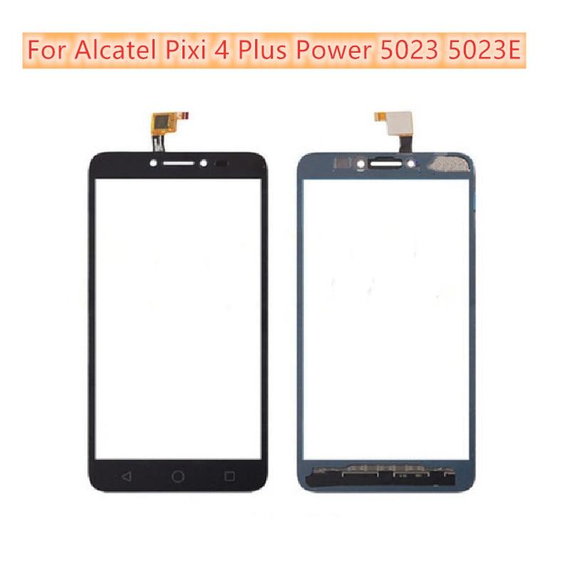 Touch Sensor Screen Digitizer Front Glass Panel For Alcatel Pixi 4 Plus Power 5023 5023E 5023F OT5023 Touch Screen Panel
