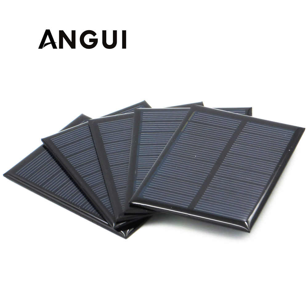 60mA 120mA 150mA 160mA 250mA Solar Panel 3V 3.5V 4V Mini Solar Battery Cell Phone Charger Portable