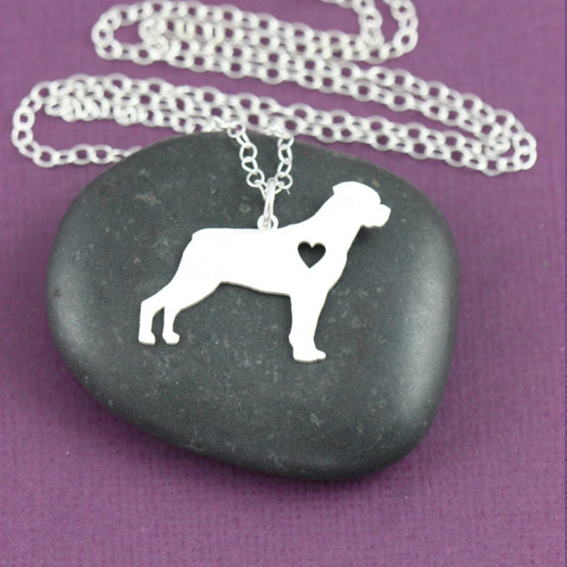 SALE CUTE Rottweiler Necklace Custom Dog Necklace Dog Breed Pet Jewelry Personalized Pets Dog Memorial New Puppy NK0011