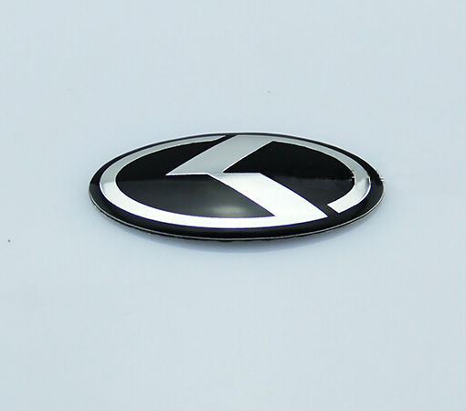 New Car K Logo 60mm25mm Steering Wheel Emblem Badge Sticker For Kia