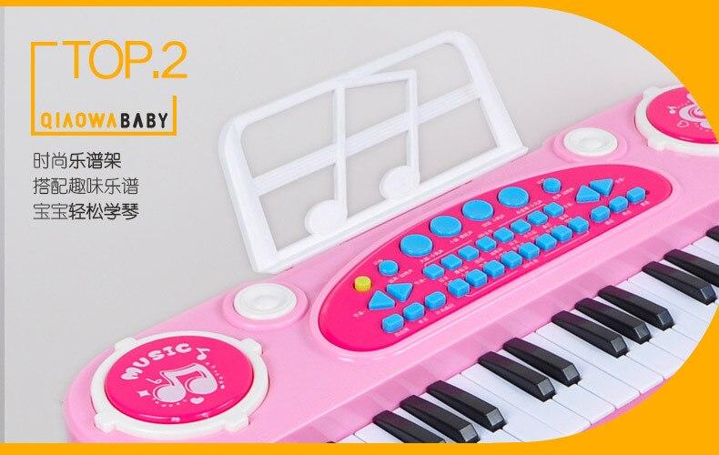 37-chave eletrônica teclado jogador tambores 2 em