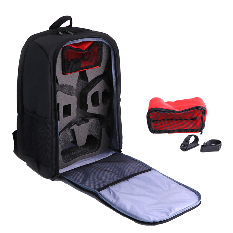 A# Drone Backpack Case Waterproof Backpack Transport Rucksack Carrying Bag with 4 Propellers for P-a-r-r-o-t B-e-b-o-p 2 Drone