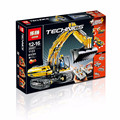 Hot LEPIN 20007 technic series 1123pcs excavator Model Building blocks Bricks Compatible Toy Christmas Gift 8043 Educational Car