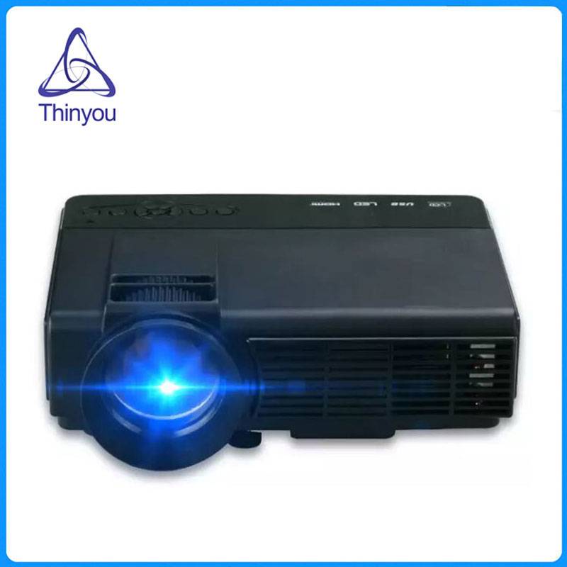 Thinyou LCD Proyector 1000LM 800x480 p 1080 P Reproductor Multimedia Portátil pa