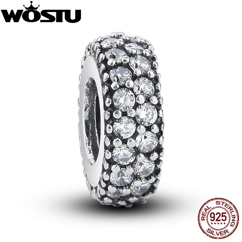 WOSTU 100% стерлінгового срібла 925 - Модні прикраси - фото 2