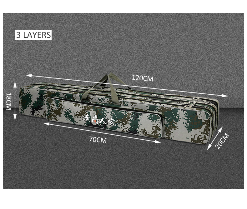 90 120cm armazenamento multifuncional ao ar livre saco xa75g