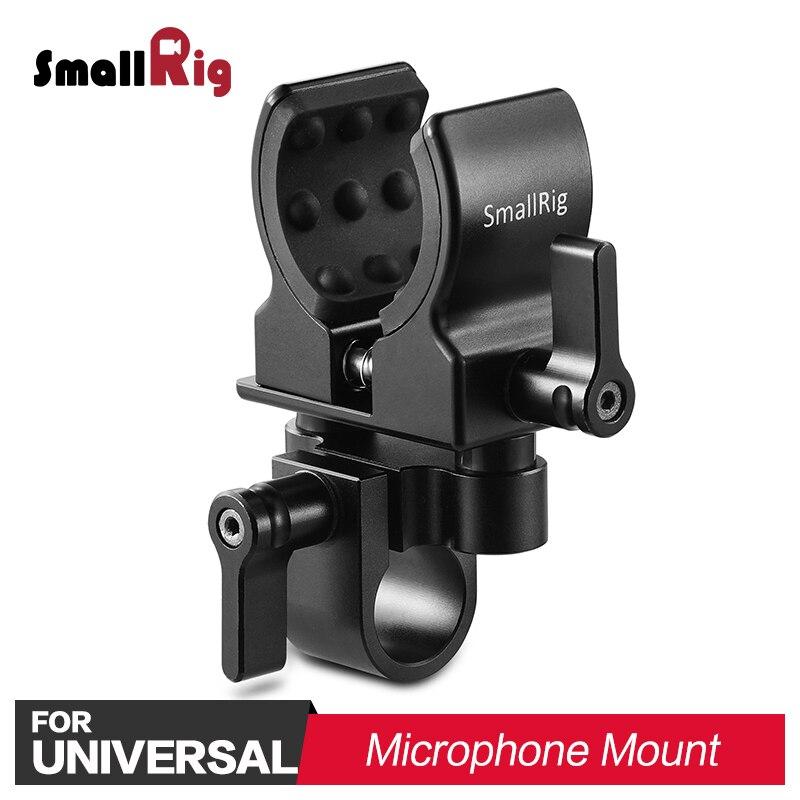 Support de Microphone de Studio universel pour appareil photo reflex numérique SmallRig support de Microphone pour pistolet à tir réglable pour microphones de 19-25mm de diamètre