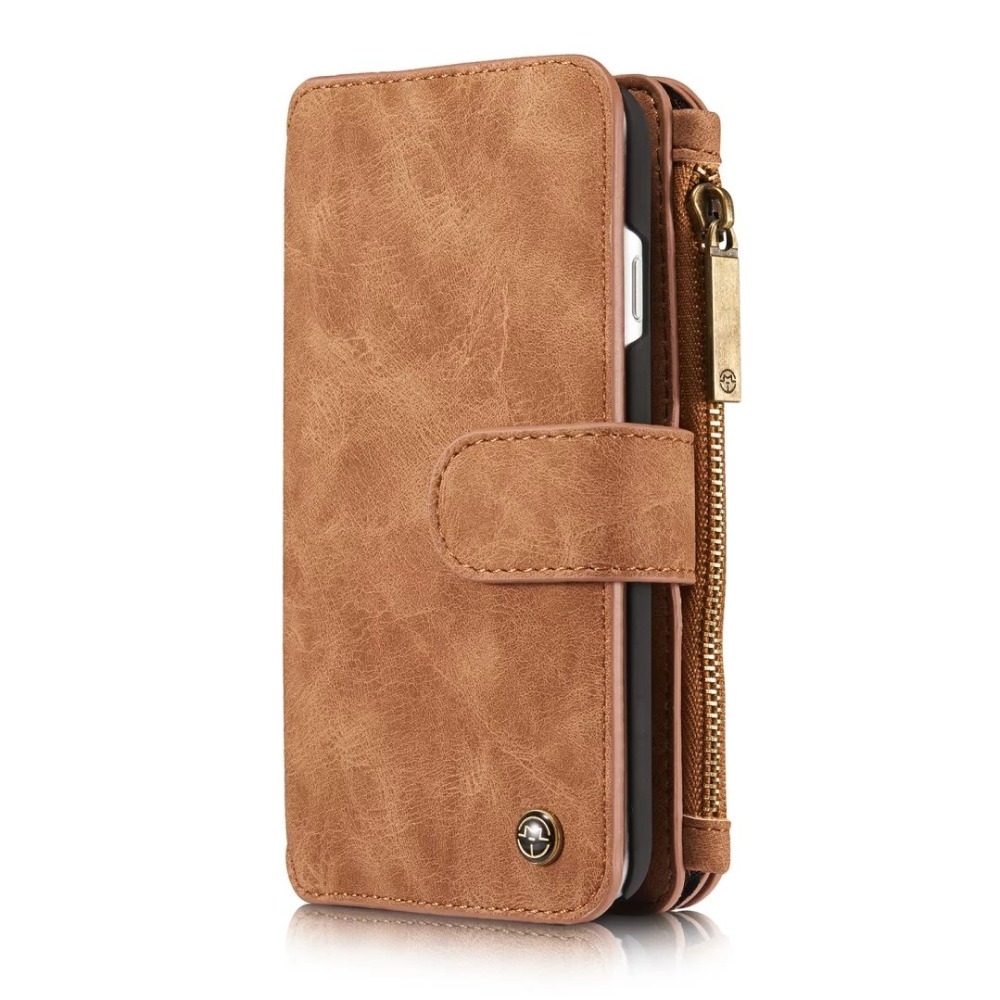 Phone Bag For Apple iPhone 7 Luxury Wallet Style Zipper