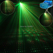 eSHINY Mini R&G sound Moving Laser projector Club Bar lighting lights Dance Disco home party Xmas DJ Stage Light show Y1 +Tripod
