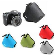 LimitX Neoprene רך עמיד למים פנימי מצלמה תיק Case כיסוי עבור Canon Powershot SX540 HS SX530 HS SX520 HS מצלמה דיגיטלית